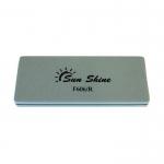"Бафик для ногтей ""SUN SHINE"", полировочный, двухсторонний, на мягкой основе, размер 0,8Х3,5Х9см"