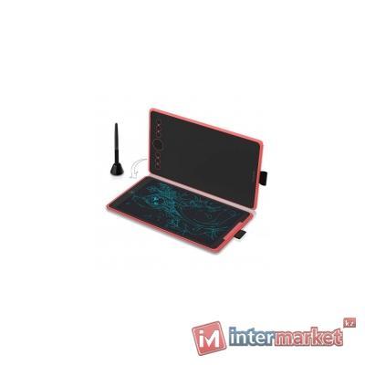 Графический планшет, Huion, H320M, Разрешение 5080 lpi, Чувствительность к нажатию 8192, Интерфейс USB, Рабочая область 279.4 х 174.6 мм. (10,2