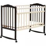 Кровать детская Bambini Классик М 01.10.09 Темный орех+Натуральный