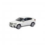 Металлическая машинка RASTAR 1:43 BMW X6 33700W, белая