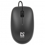 Проводная мышь Defender Datum MM-010 Black USB