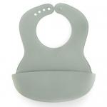 Нагрудник Happy Baby пластиковый мягкий Baby Plastic Bib 16000 Dark Green