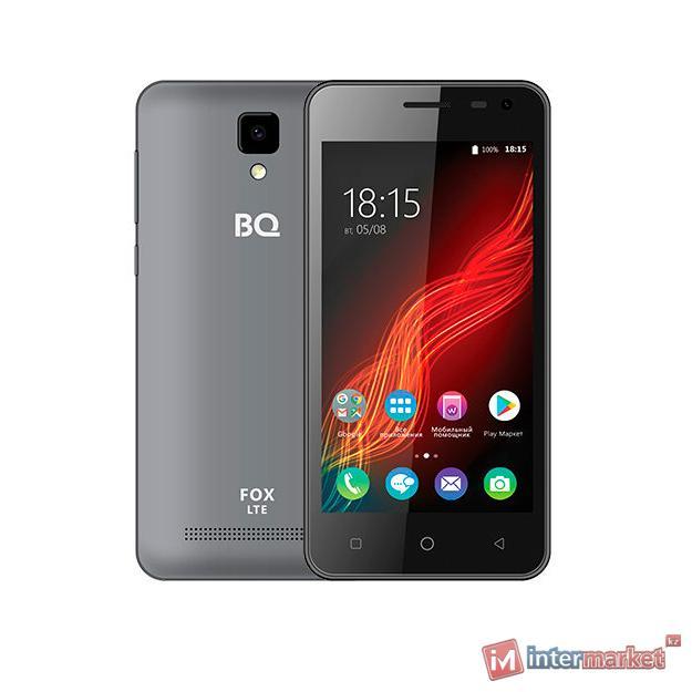 Смартфон BQ BQ-4500L Fox LTE Grey