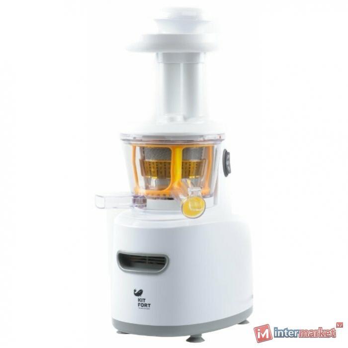 Соковыжималка шнековая Kitfort КТ-1101-1 белый