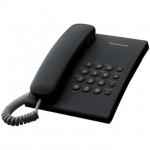 Телефон PANASONIC KX-TS 2350CAB Flash/Redial/Tone-Pulse, (черный)